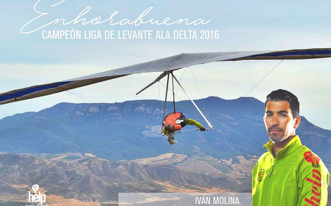 IVÁN MOLINA CAMPEÓN DE LA LIGA DE LEVANTE 2016
