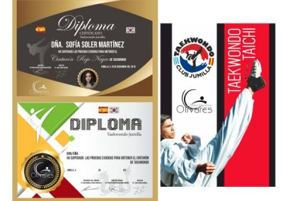 Diseño diplomas